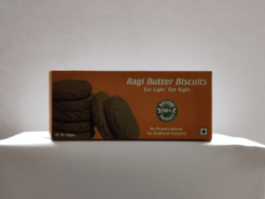 Ragi butter biscuits