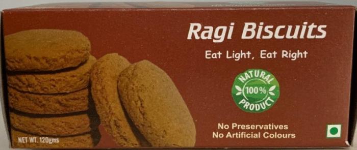 Ragi biscuit banner